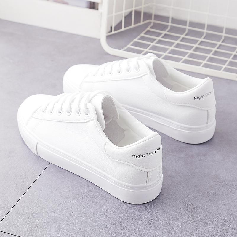 外穿运动款2019板鞋夏日小白鞋女百搭新款舒服白搭简单清凉版