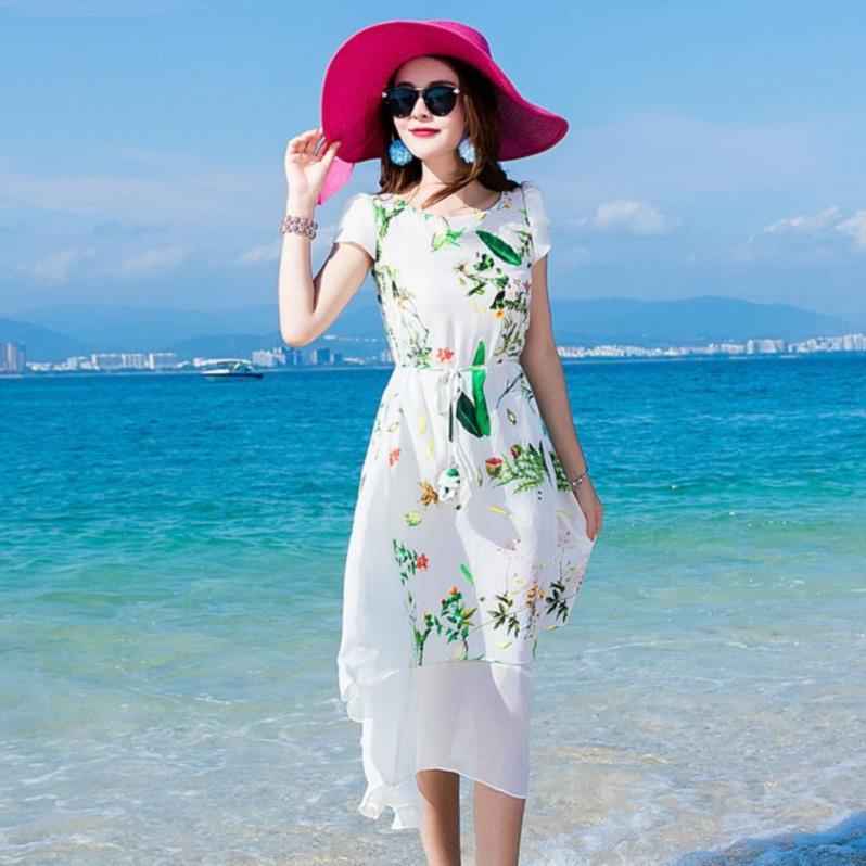 矮个子性感重磅真丝桑蚕丝连衣裙年轻款舒服a字显高纯色老年夏装(非品牌)