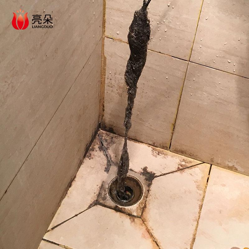 通马桶通下水道疏通器家用捅厕所厨房管道专用工具钢丝簧手摇神器