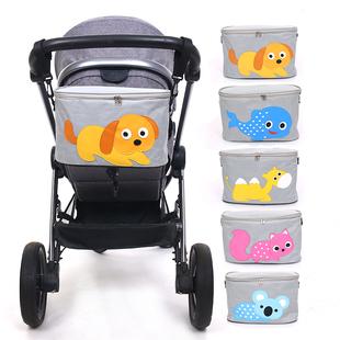 包邮婴儿推车配件挂钩收纳袋挂篮置物袋推车挂包袋外出行婴儿车包