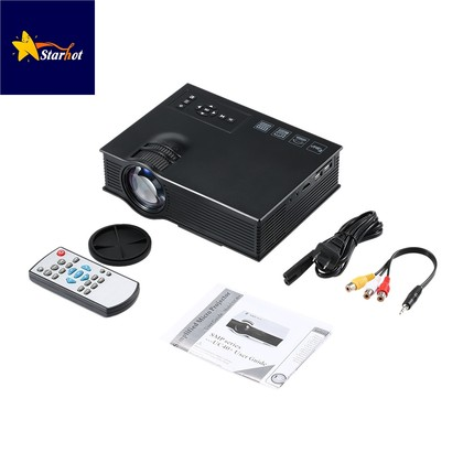 UC40 HD 1080P LED Video 3D Projector Home Cinema Theater