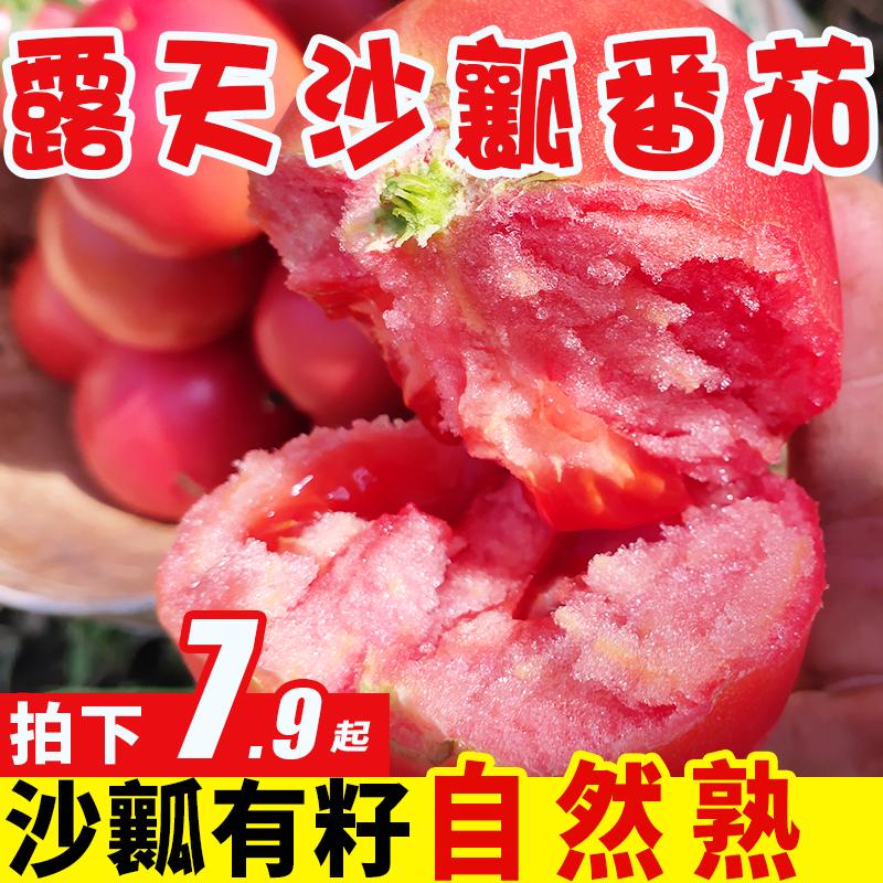 攀枝花沙瓤番茄9斤普罗旺斯西红柿沙瓤新鲜自然熟小番茄整箱包邮5