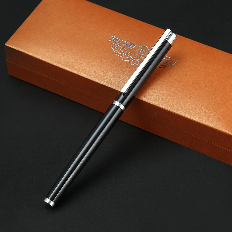 官方正品英雄鋼筆 盒裝 學生練字 鋼筆財務墨水筆 刻字定製