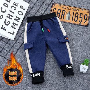 男寶寶褲子 童裝春秋新款小童休閒工裝褲洋氣運動褲1-7歲男童長褲