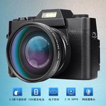 微单3000万高清像素16倍4K录像复古单反数码照相机自拍WIFI摄像机