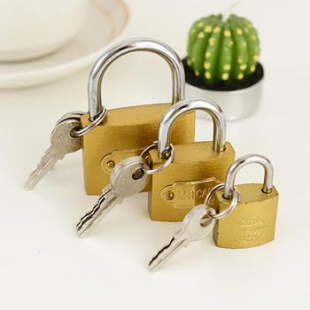 柜子锁迷你锁子柜门抽屉锁防盗锁
