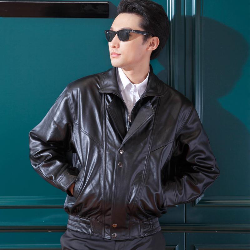 Mens leather jacket, mens leather riding suit, mens motorcycle pilot leather jacket, mens leather with cotton