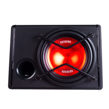 Vehicle-borne Subwoofer 12-inch Vehicle Subwoofer Special Active Vehicle-borne Acoustic Heavy Bass Box for High Power Vehicle