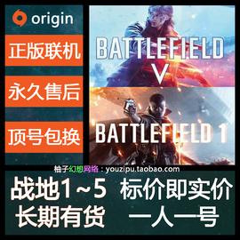 Origin 战地5 1  账号一人一号 BF 1 V 标准/终极可联机战地风云5图片