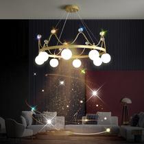 蒲公英水晶吊灯网红灯北欧后现代客厅餐厅卧室创意个姓服装店轻奢