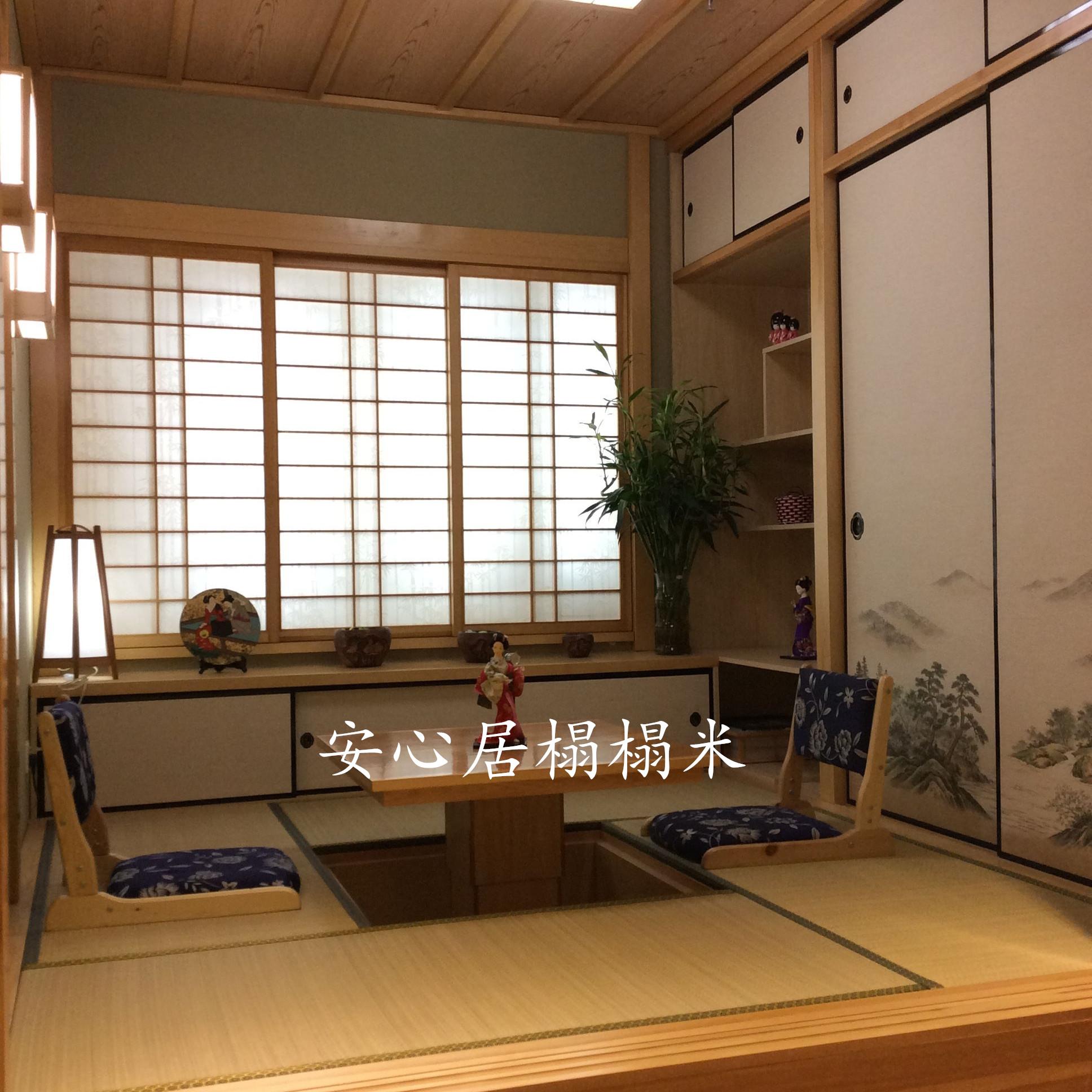 北京天津实木榻榻米定制日式卧室床整体衣柜书柜全屋家具定做包邮
