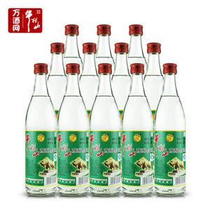 北京牛栏山二锅头陈酿白牛二52度高度500ml*12瓶 白酒整箱