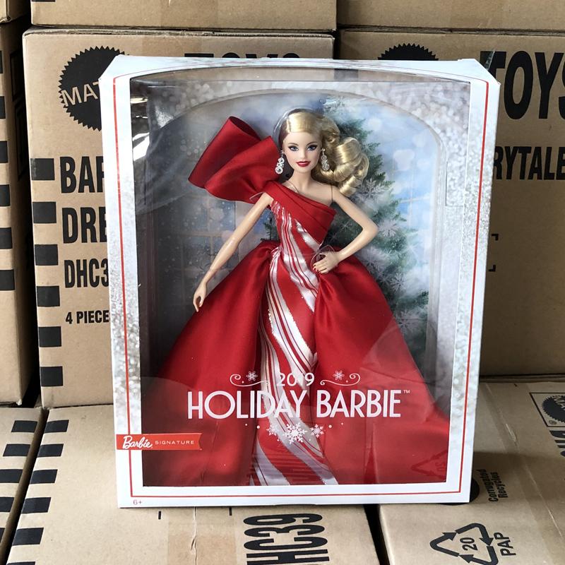 有赠品正品芭比之珍藏版女孩七夕礼物娃娃