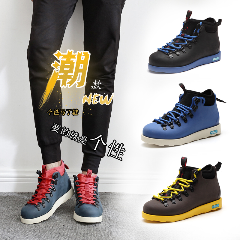Lovers board shoes coke shoes native Martin boots high top mens shoes sports casual shoes work clothes shoes winter fashion shoes