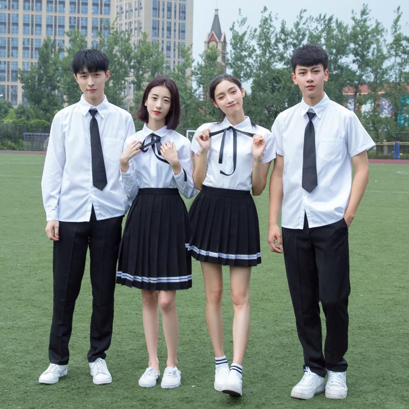 学生校服班服日系学院风初高中生男女小时代毕业照演出jk制服套装