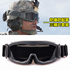 Outdoor windproof sand glasses off-road Harley motorcycle motorcycle riding helmet goggles anti-fog tactical windshield
