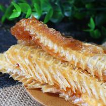 鳕鱼鱼排深海鱼骨头即食鱼骨粒香酥脆鱼排休闲海鲜零食520g鱼骨