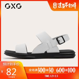 GXG男鞋凉鞋男拖鞋男鞋子男潮鞋2019新款夏季GY150440C