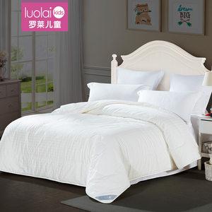 罗莱家纺儿童莱赛尔纤维天丝蚕丝被子被芯单人全棉床上用品被子冬