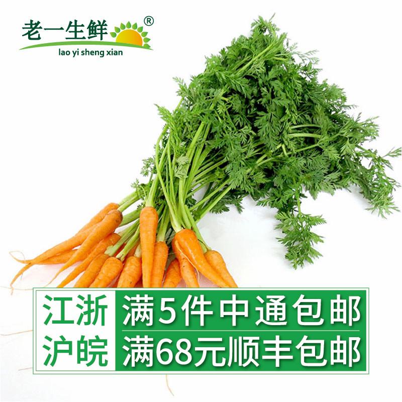 手指胡萝卜500g西餐蔬菜