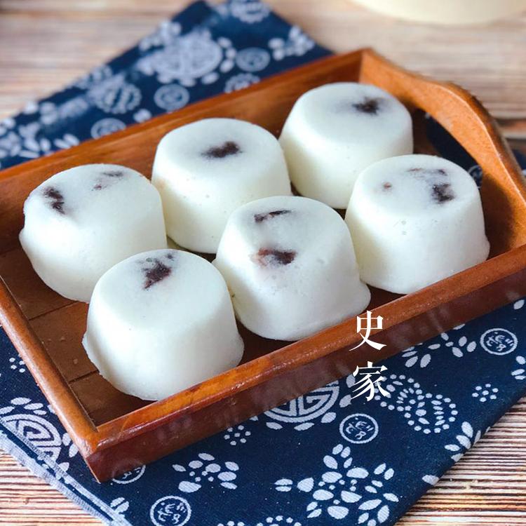 史家糕点 酒酿米馒头豆沙夹心米糕钵仔糕宁波传统糕点 4件包邮
