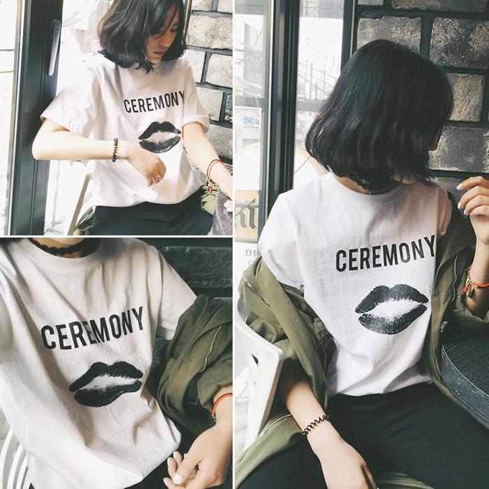 太安莉t��女半袖2018新款韩版大码女装宽松体恤衫学生短袖t恤女夏
