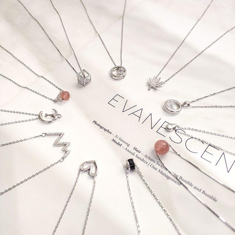 [怦然心动饰品项链]网红ins小众设计项链女潮冷淡风韩版月销量37845件仅售10.99元