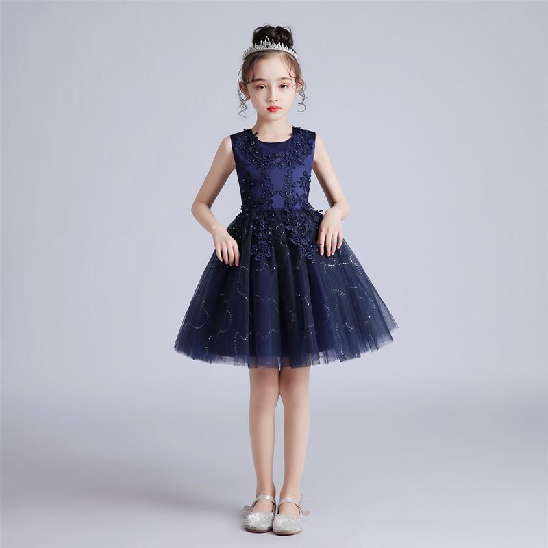 儿童夏季短款连衣裙2020年夏演出服