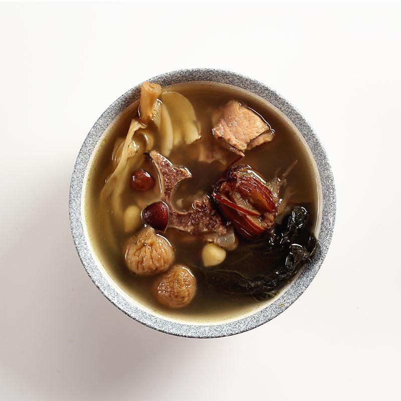 白菜干南北杏猪骨汤 广东老火汤料 清润滋补炖汤材料包 可配猪肺
