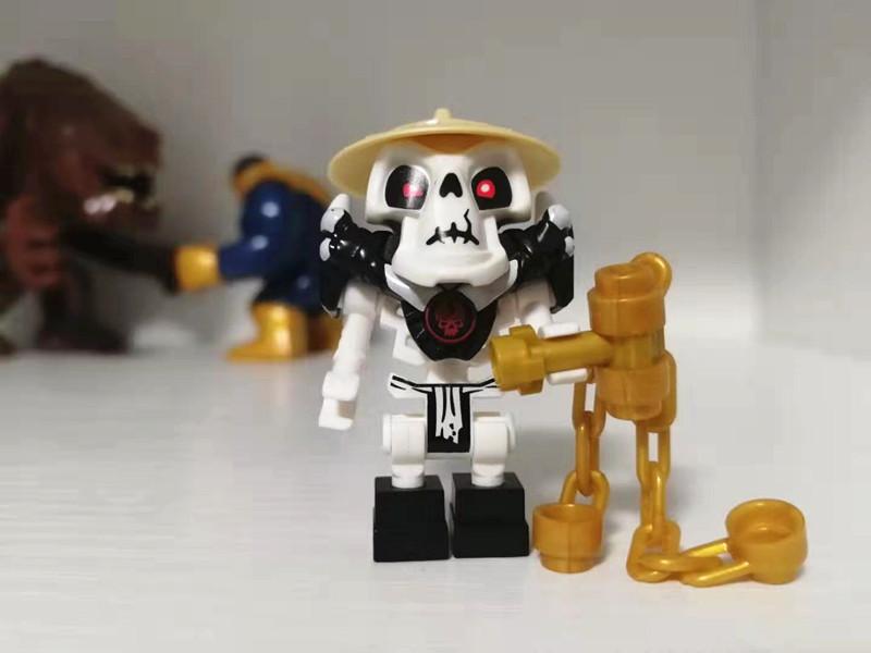 券后59.00元乐高lego幻影忍者njo028瓦帕骷髅