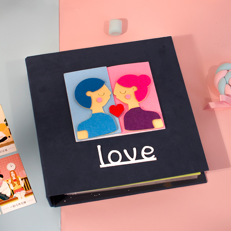 情侣要做的100件事恋爱diy纪念相册送女男友创意生日情人520礼物