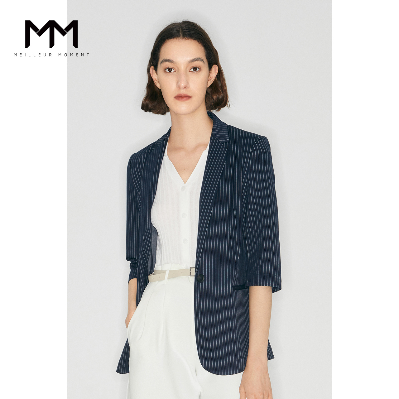 Mm Matsman Simple Denar Suit Luciting Striped Design Thin Sleeve Sleef Search Outside Group 5998112931