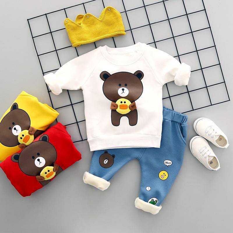 六8七八九6-12个月十5婴儿衣服3女2男宝宝套装春秋装1岁小孩0潮冬