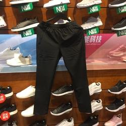 安踏长裤男裤2018夏季新款针织短裤透气薄款跑步裤运动裤15837502