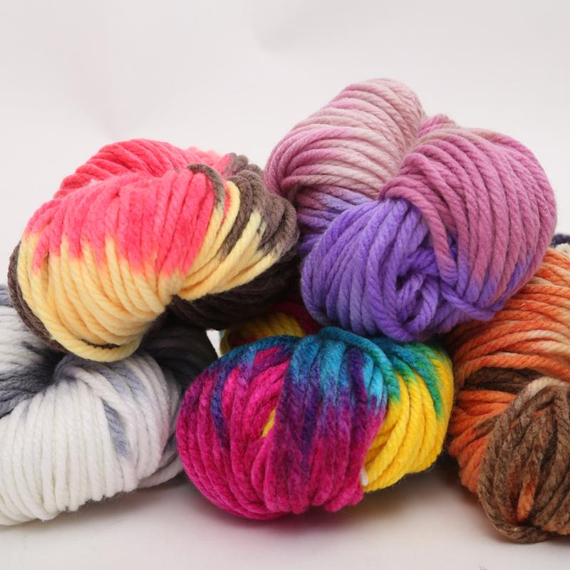 特粗线冰岛毛线粗毛线手编织围巾线帽子粗线棒针美利奴毯子线包邮