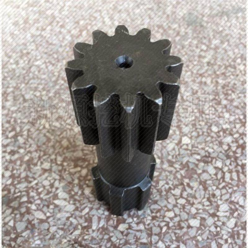 新源55 65-7輪の掘削機の古いタイプの回転モーターギアボックスのギア塞克思太陽歯部品
