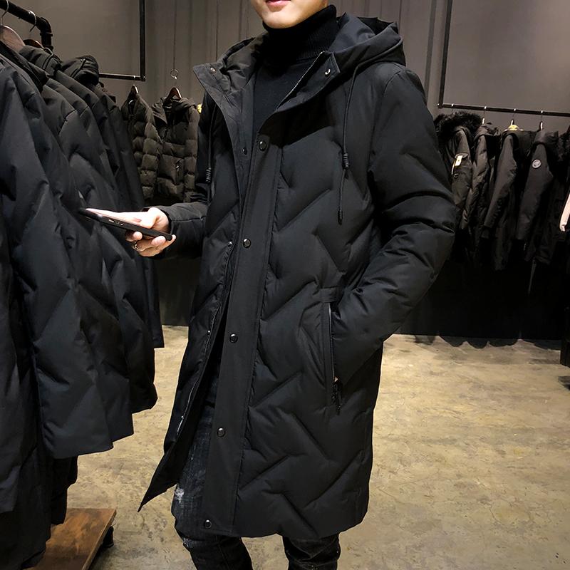 2019新款冬季中长款大衣韩版羽绒服