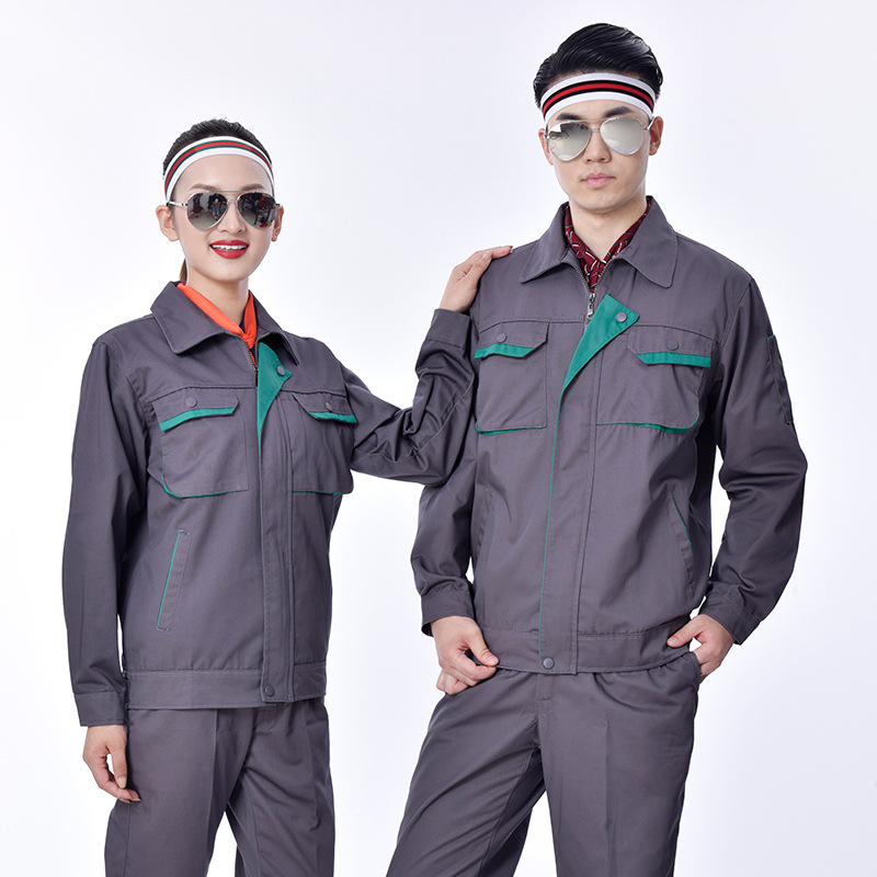 Road and bridge construction autumn and winter long sleeve supervision engineering uniform factory workshop electrician welder uniform Express Logistics