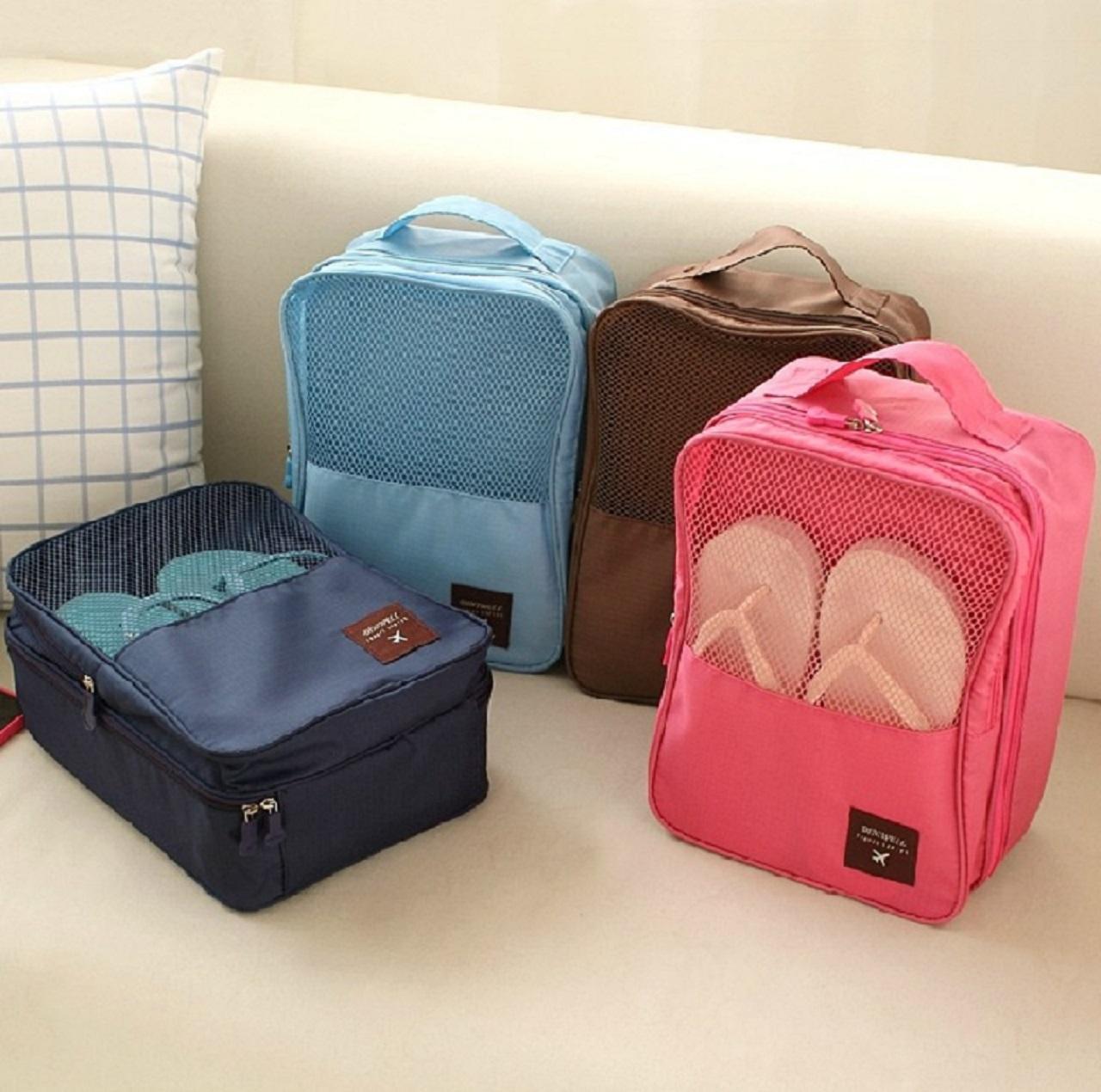 Путешествие хранение коробка для обуви разбираться обувь, сумки портативный обувь, сумки путешествие обувь багаж мешок водонепроницаемый обувной лю волны в этом же моделье