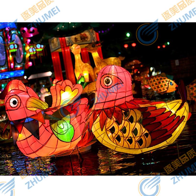 大型公园水上LED花灯装饰 商场圣诞节日灯展造型美陈新年节日装扮,可领取元淘宝优惠券