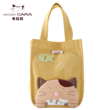 HIKOSEN CARA Cara Female Cute Cloth Handicraft Canvas Handbag Handbag Handbag