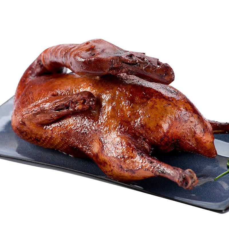 丁义兴酱鸭板鸭500g真空即食酱香鸭