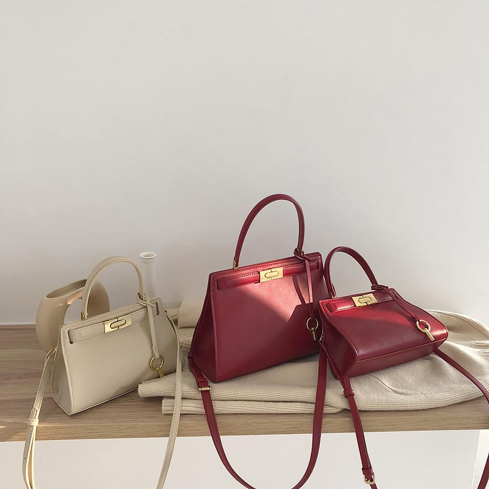 新款简约大容量女包百搭单肩斜挎包气质手提包女大包包LOSEA2019