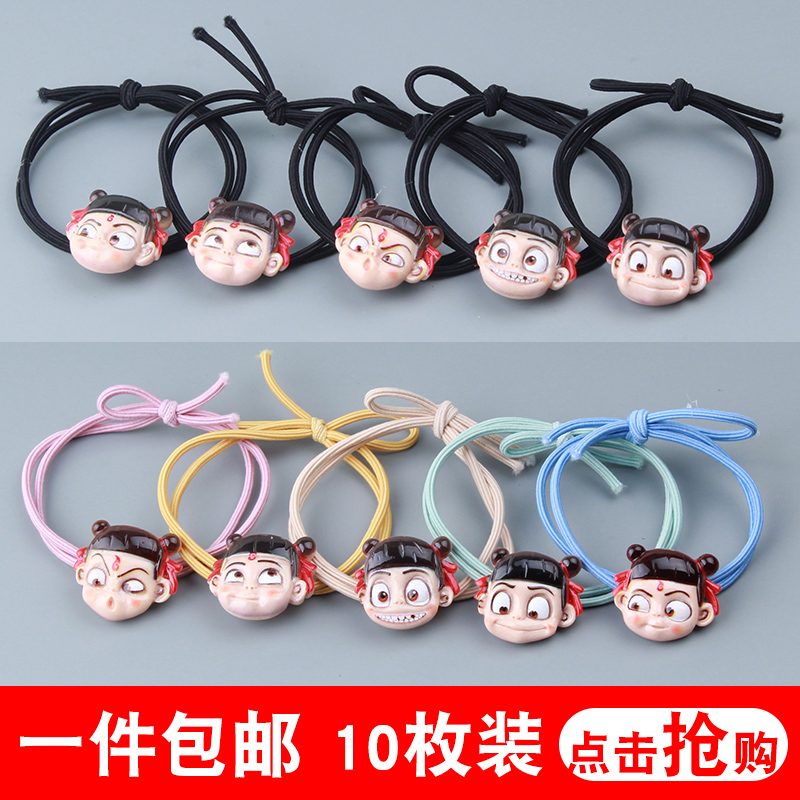 Nazhas hair ornament hairband baby tie rope female simple childrens children dont hurt their hair tendons hair rope princess is lovely