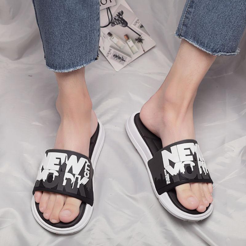 11月30日最新优惠轩尧耐克泰品牌2019新款拖鞋男潮网红潮流韩版运动个性室外夏外穿