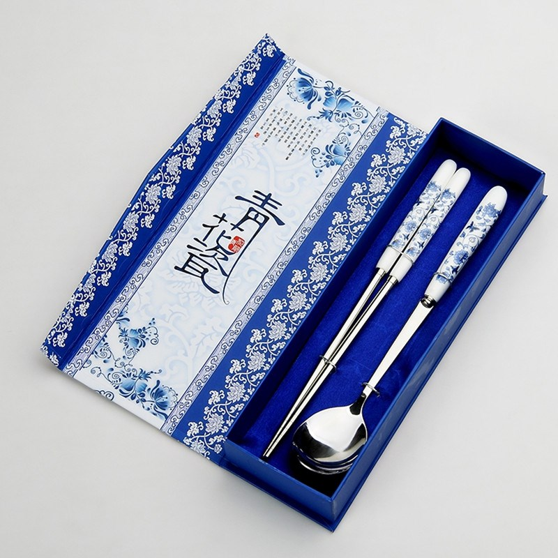 京剧脸谱餐具出国小礼物外事纪念品特色送老外中国风商务礼品