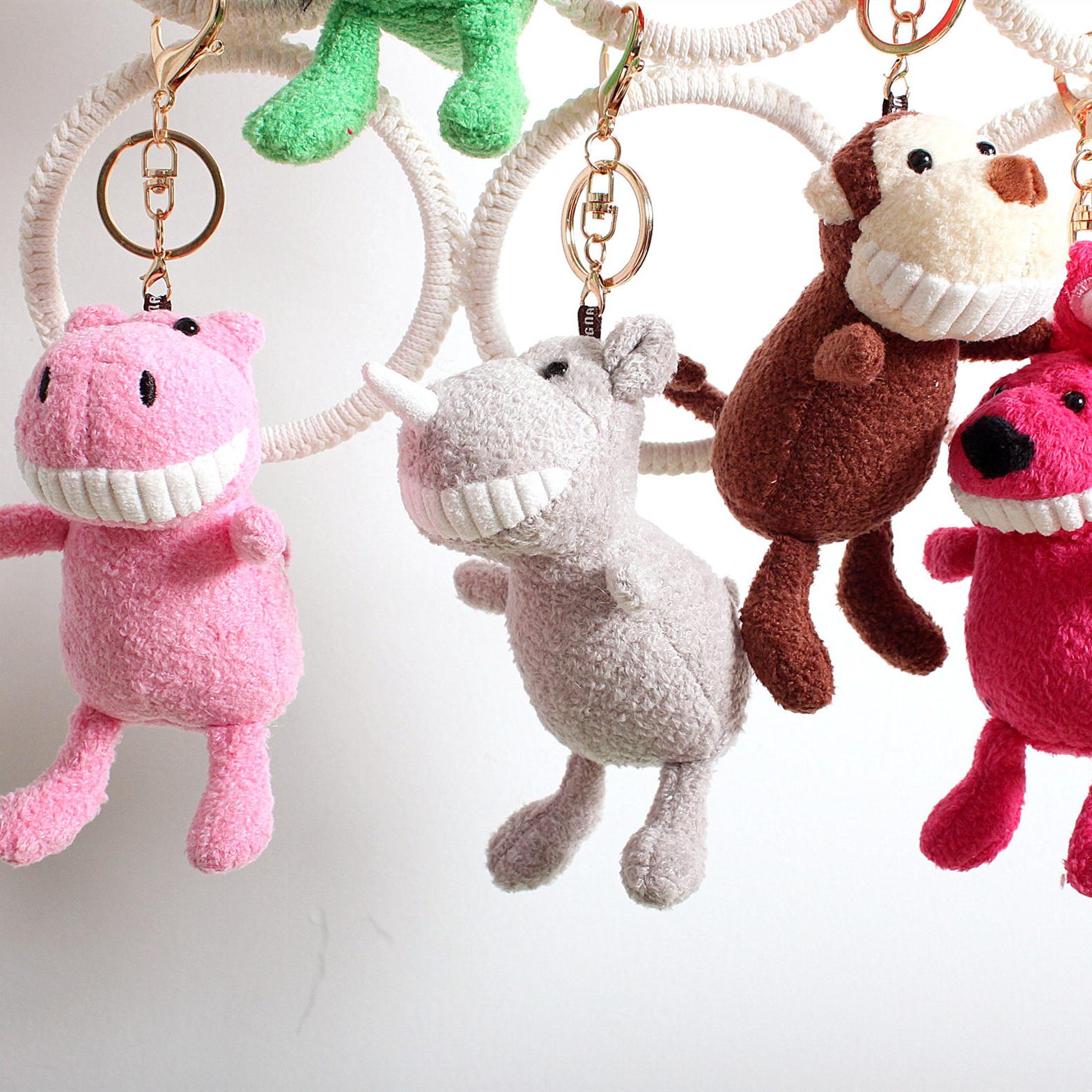 10-12新券nunnun抓娃娃机挂件动物小号小玩偶