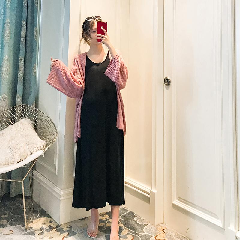 10-30新券孕妇秋装时尚款2019新款韩版背心裙