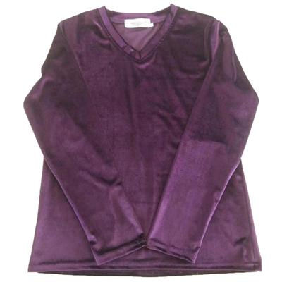 金丝绒V领打底衫初秋季女装新款小衫韩版长袖T恤洋气百搭上衣内搭