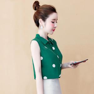 夏季雪纺短袖女装夏装2021年衬衫